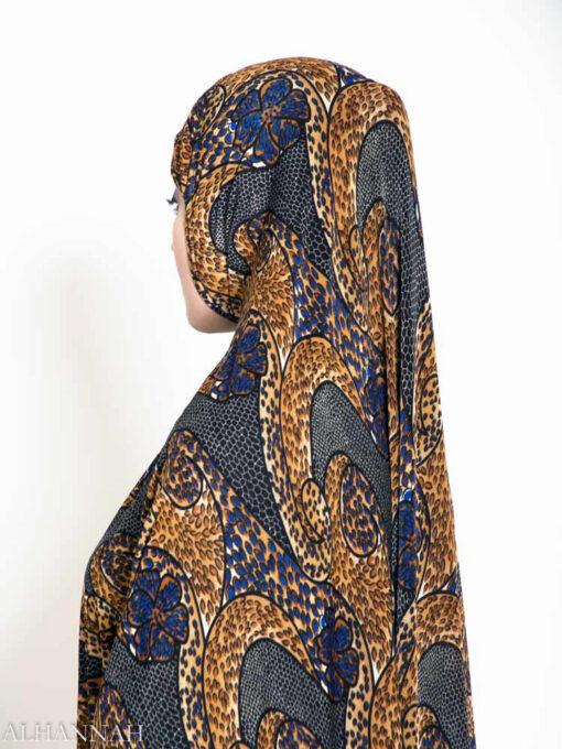 Jungle Violet Amira Hijab Print