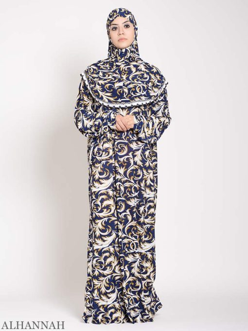 Lapis Damask one piece Prayer outfit