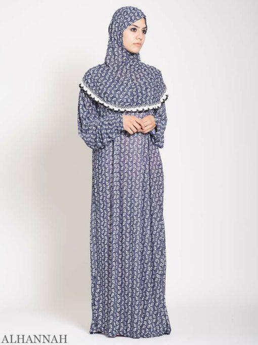 Lapis Paisley Prayer Outfit