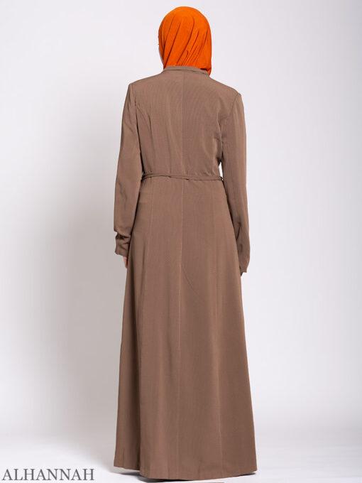 Premium Jordanian Style Jilbab Back