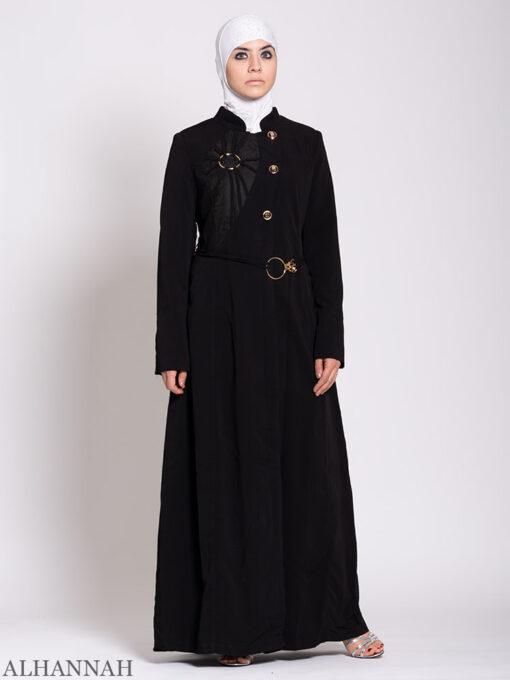 Premium Jordanian Style Jilbab Black