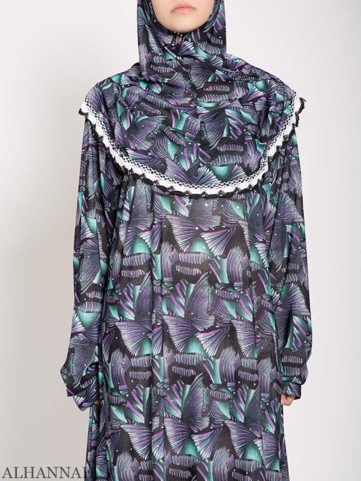 close up abstract fans prayer outfit