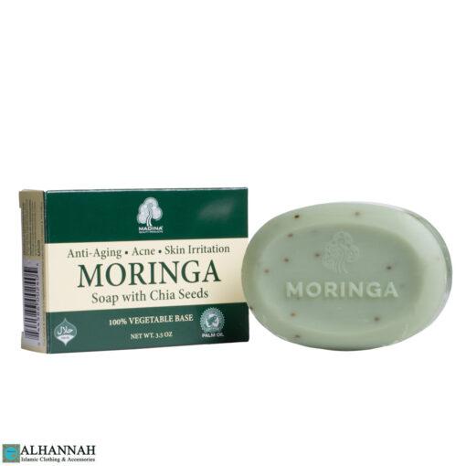 Moringa Soap with Chia Seeds
