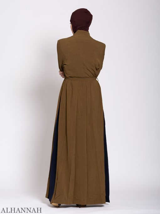 Premium Jilbab with Side Panels Back