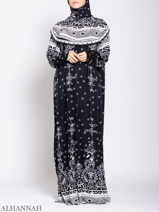Floral Delight One Piece Prayer Outfit ps532