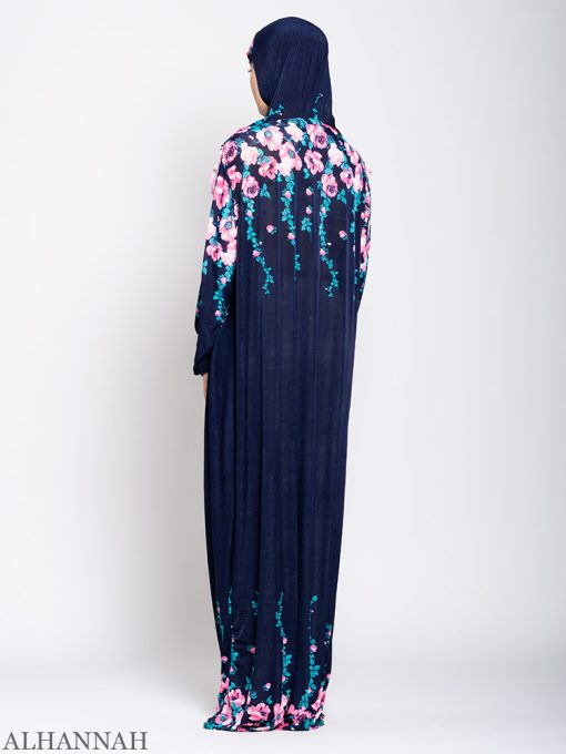 Floral Nostalgia One Piece Prayer Outfit ps531 Back