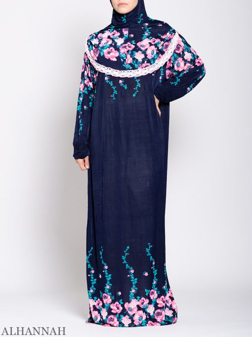 Floral Nostalgia One Piece Prayer Outfit ps531 Front