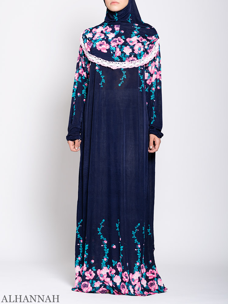 Floral Nostalgia One Piece Prayer Outfit ps531