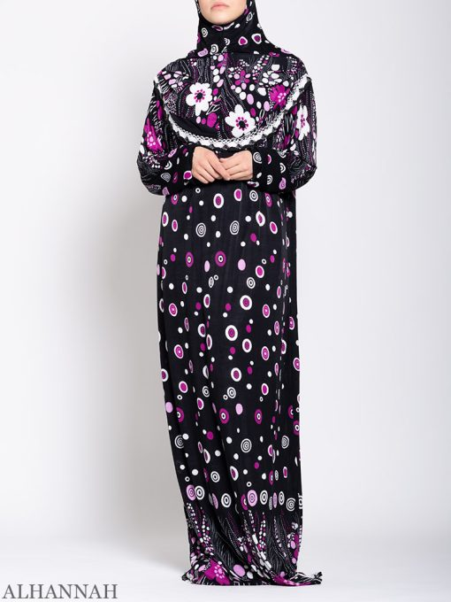 Floral Treasures One Piece Prayer Outfit ps535 Front