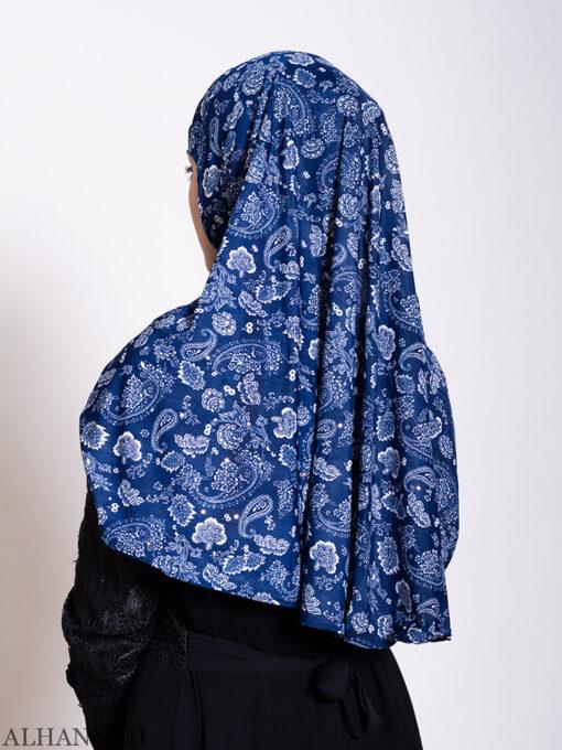 Paisley Lapis Amira Hijab Back