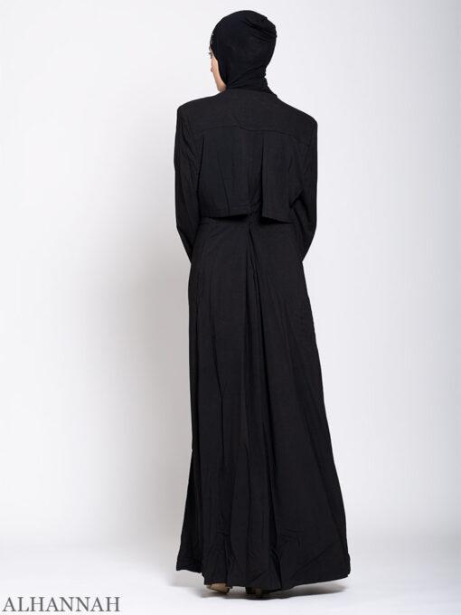Turkish Style Abaya Back