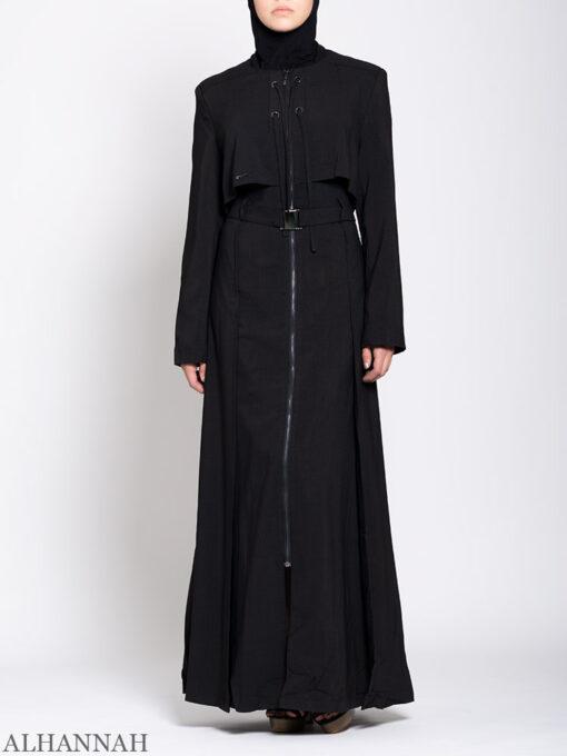 Turkish Style Abaya Black