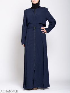 Turkish Style Abaya Blue