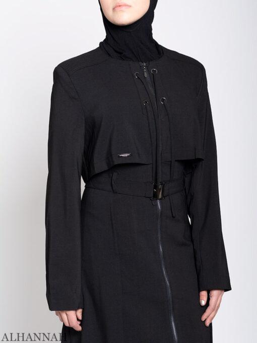 Turkish Style Abaya Close Up