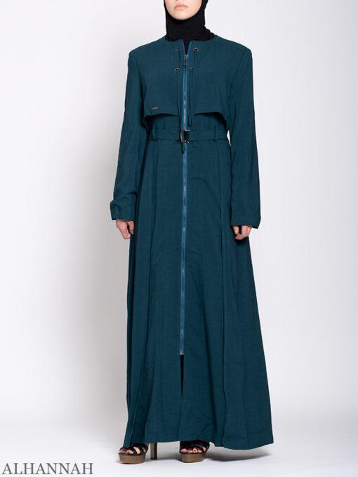 Turkish Style Abaya Teal