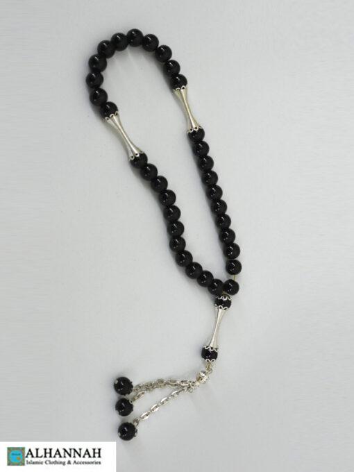 Onyx Black Tasbih Islam Prayer Beads