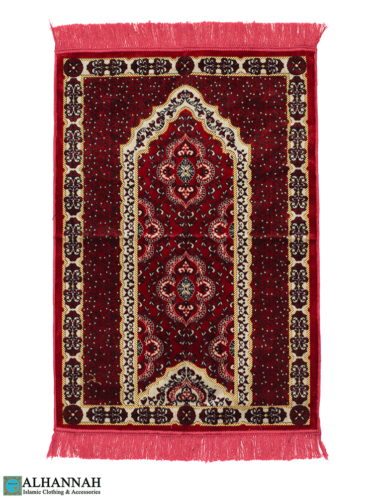 Prayer Rug Classic Red Pattern
