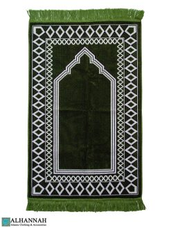 Prayer Rug in Pine Color