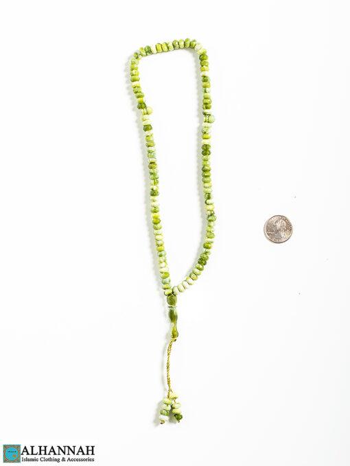 Tisbah Islam Prayer Beads 99 Fern 2