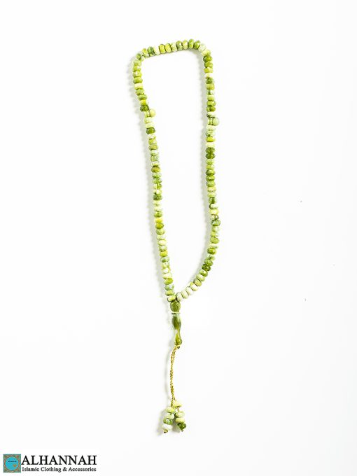 Tisbah Islam Prayer Beads-99 Fern