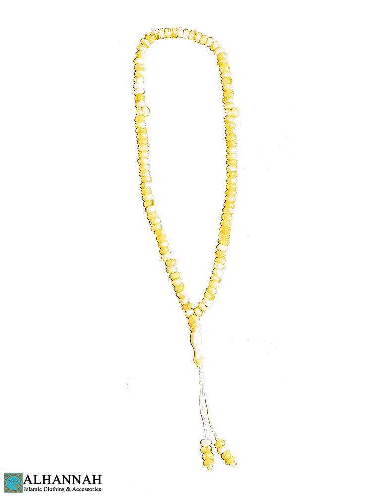 Tisbah Islam Prayer Beads-Maize