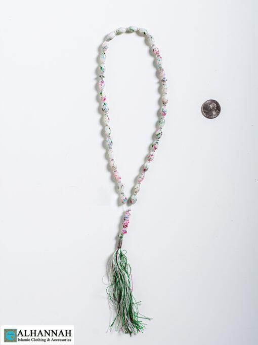 Tisbah Islam Prayer Beads Pastel 2
