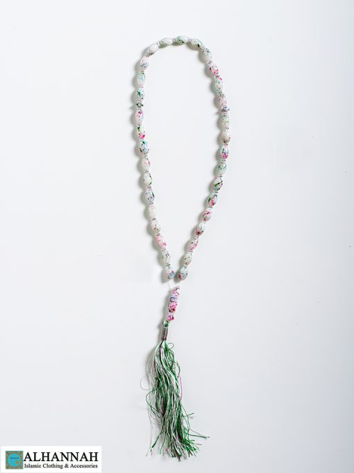 Tisbah Islam Prayer Beads Pastel