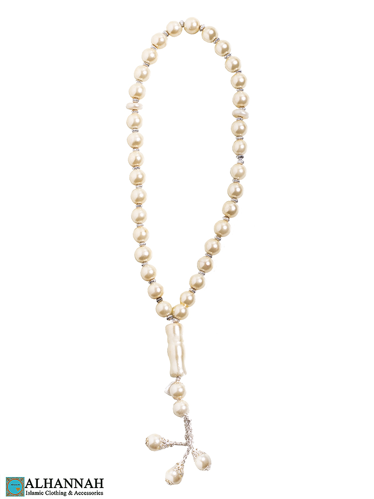 Pearl Tasbih Beads - 33 Bead Set