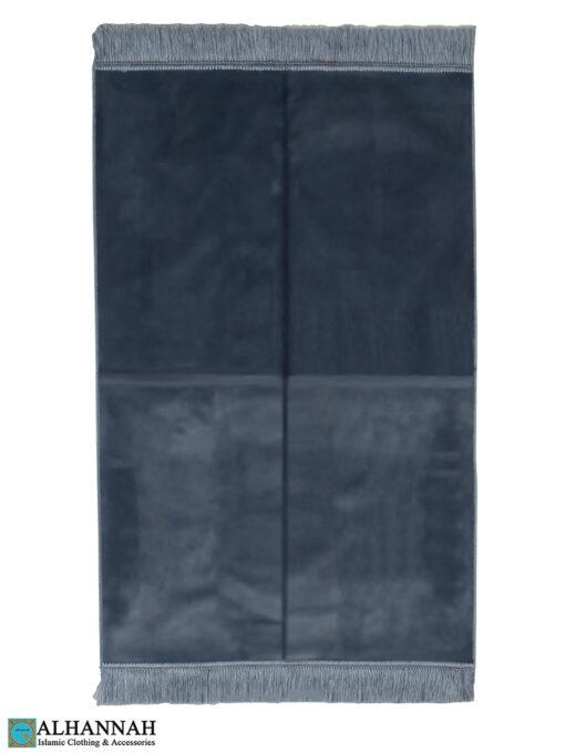 Solid Color Prayer Rug Grey zz