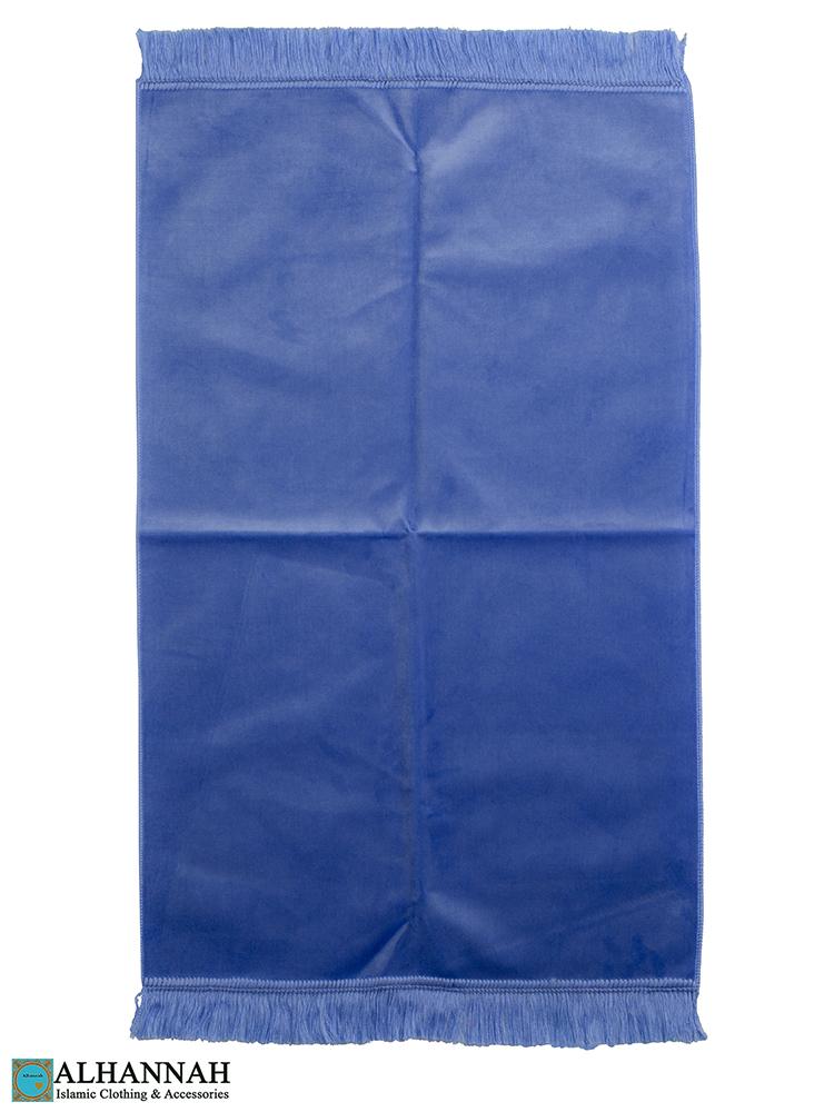 Solid Color Prayer Rug Sky Blue