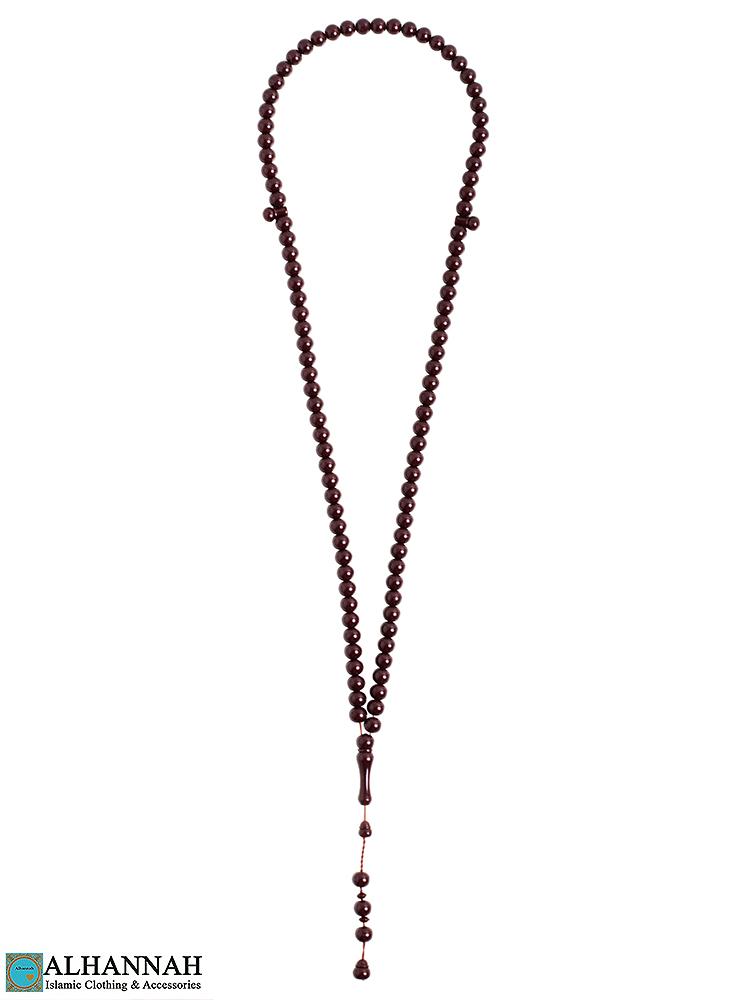 Tasbih Beads - 99 mahogany Bead set