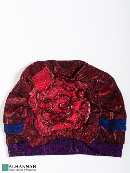 Cap Style Underscarf Strawberry Grape