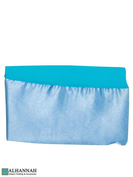 Satin-Trim-Underscarf-Turquoise