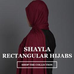 Shayla - Rectangular Hijabs