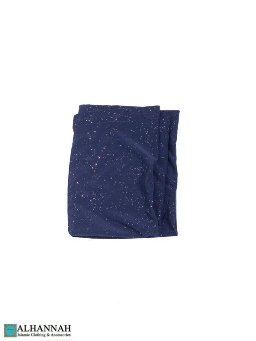Sparkle-Underscarf-Navy-Blue