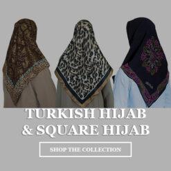 Turkish Hijab and Square Hijab