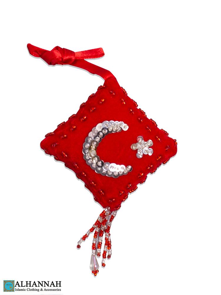 Crescent Islamic Hanging Ornament