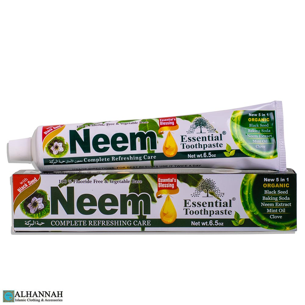 Neem 5-in-1 Organic Halal Toothpaste