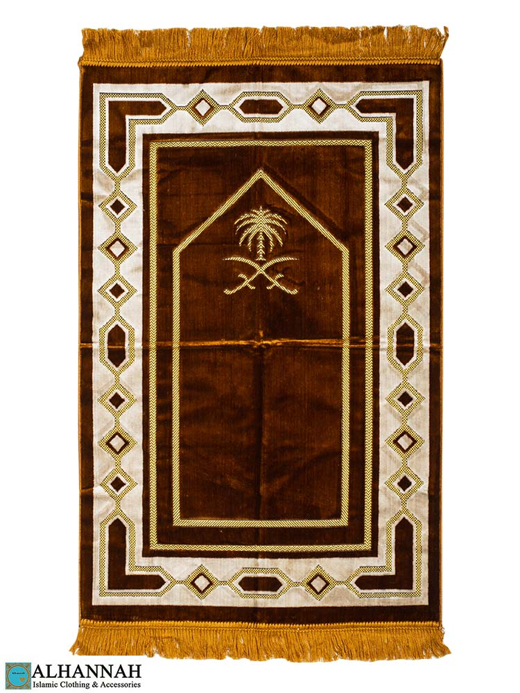 Prayer Rug Saudi Double Swords Copper