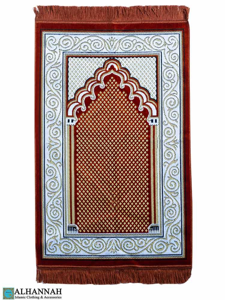 Turkish Prayer Rug Paprika
