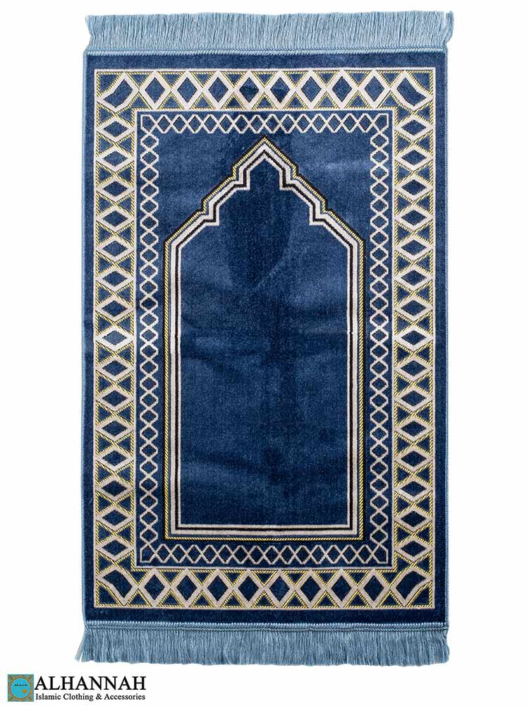 Turkish Prayer Rug Persian Blue