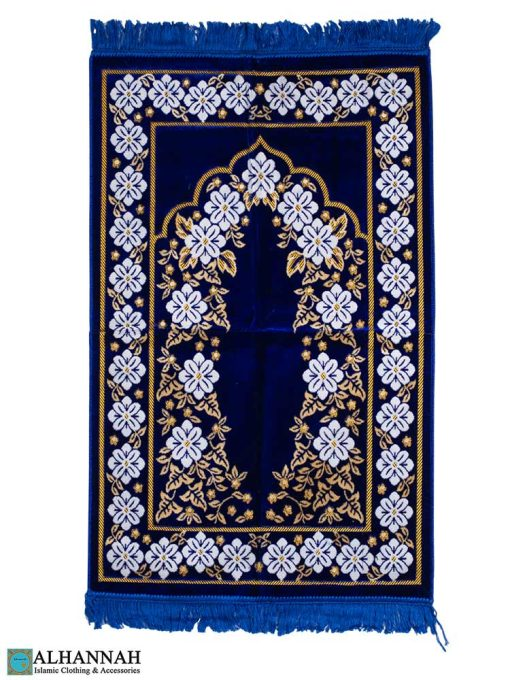 Deluxe Floral Turkish Prayer Rug
