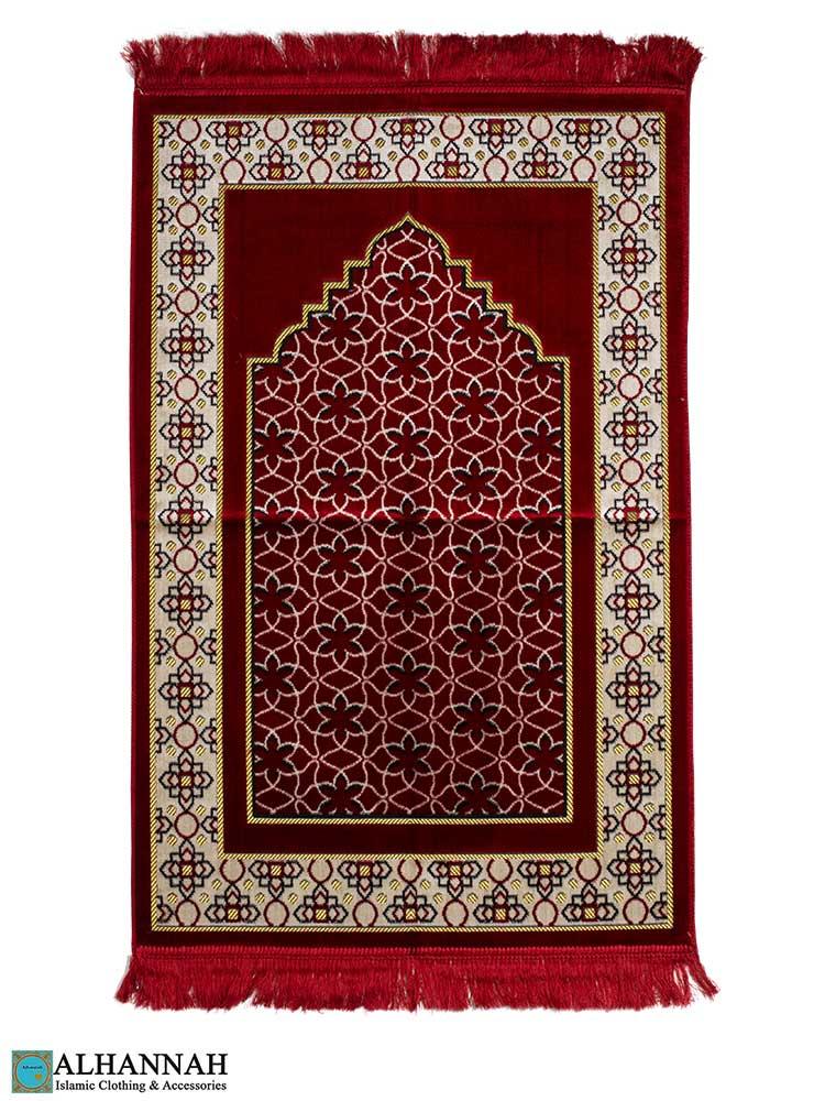 Islamic Prayer Rug Geometric Pattern