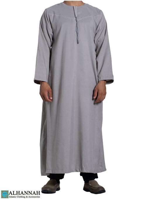 Yemeni Thobe Classic Grey