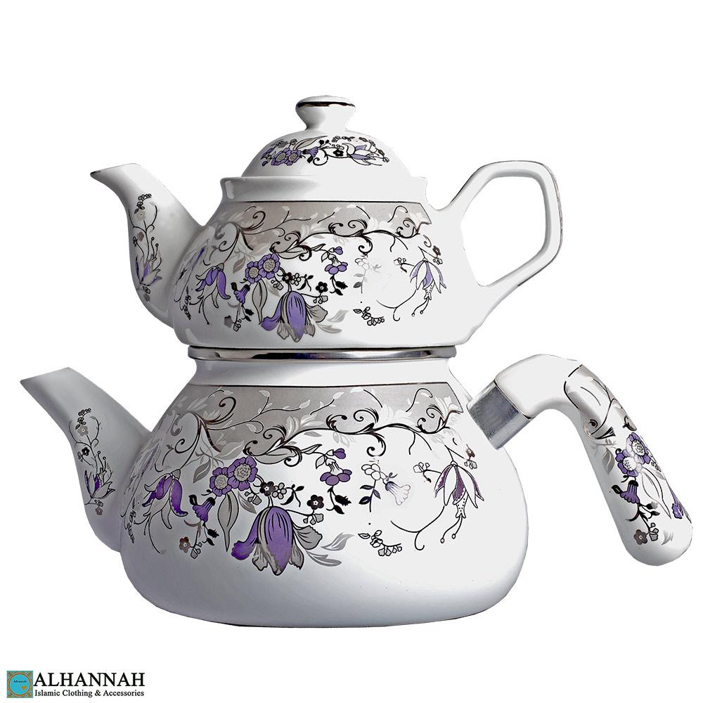 Double Turkish Teapot