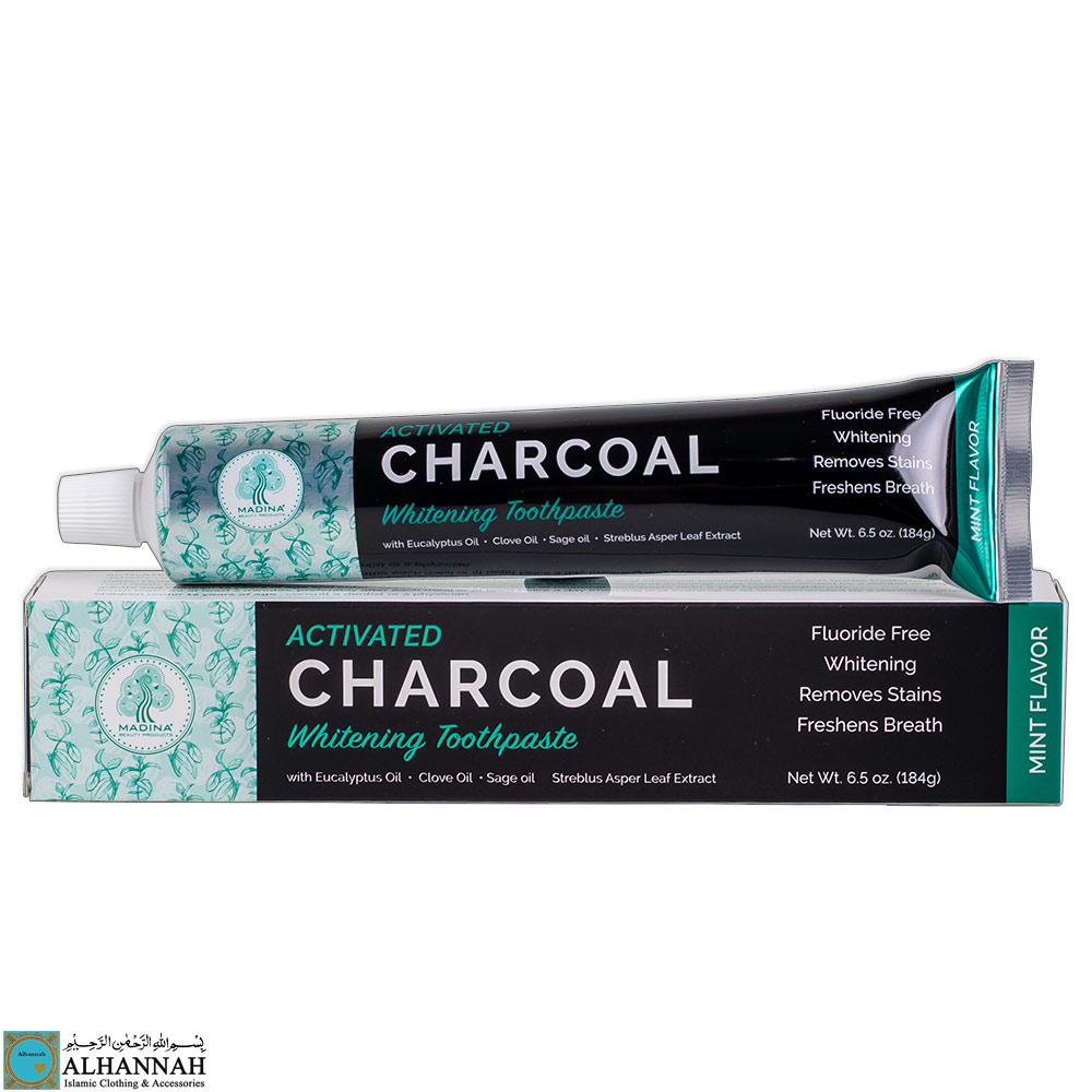 Halal Charcoal Toothpaste