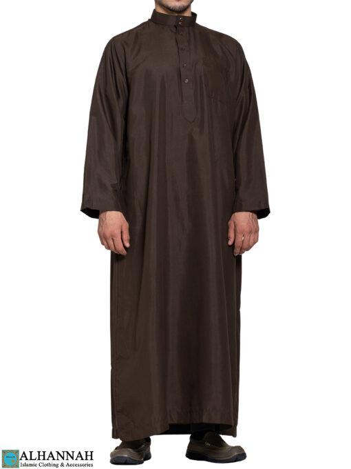 Saudi Thobe in Brown