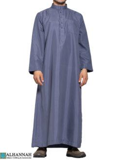 Saudi Thobe in slate