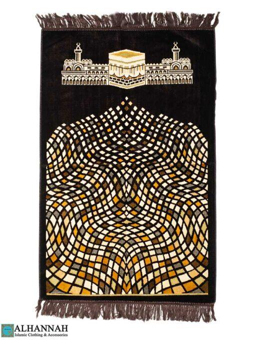 Prayer Rug Kaaba and Mosque Design