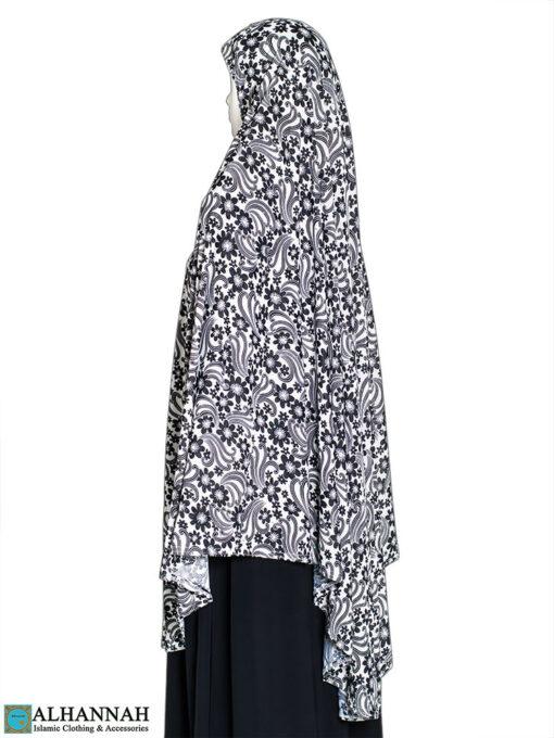 Extra Long Amirah Hijab - Floral Breeze Print